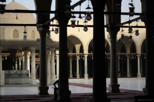 CAIRO- Amr ibn al-As, the first mosque built in Africa. (photo:Constanza Gallardo)