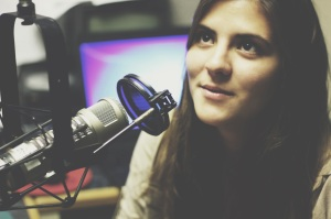 Julia Duba, 21, found her passion in radio after experimenting with biology and psychology.